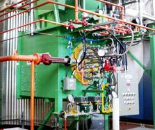 Centrale thermique de production de vapeur