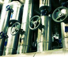 Réseaux de vapeur et condensat