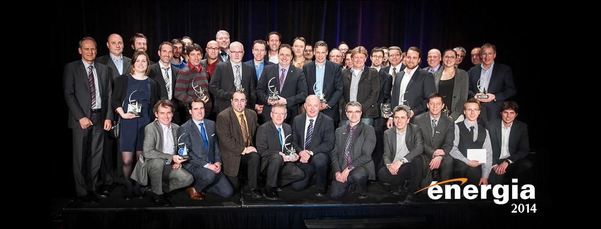Lauréat procédé industriel de plus de 5M$ — Gala Énergia AQME 2014